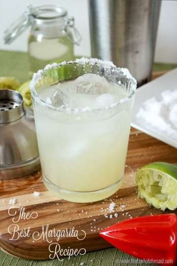The Best Margarita Recipe Ever! You will never want to use a mix again.