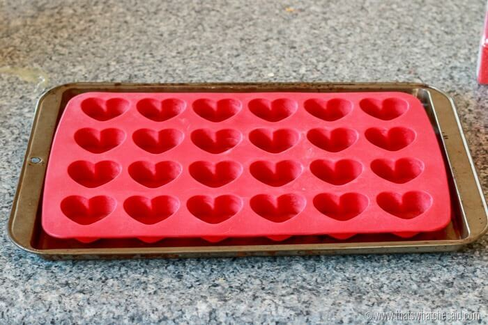 Things to do with a Silocone Heart mold