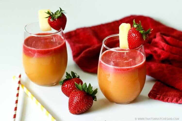 Fantastic Summer beverage perfect as a cocktail or mocktail!