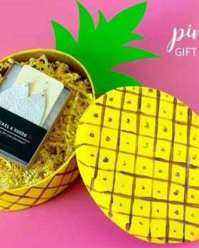 Fun Pineapple Gift Box Craft