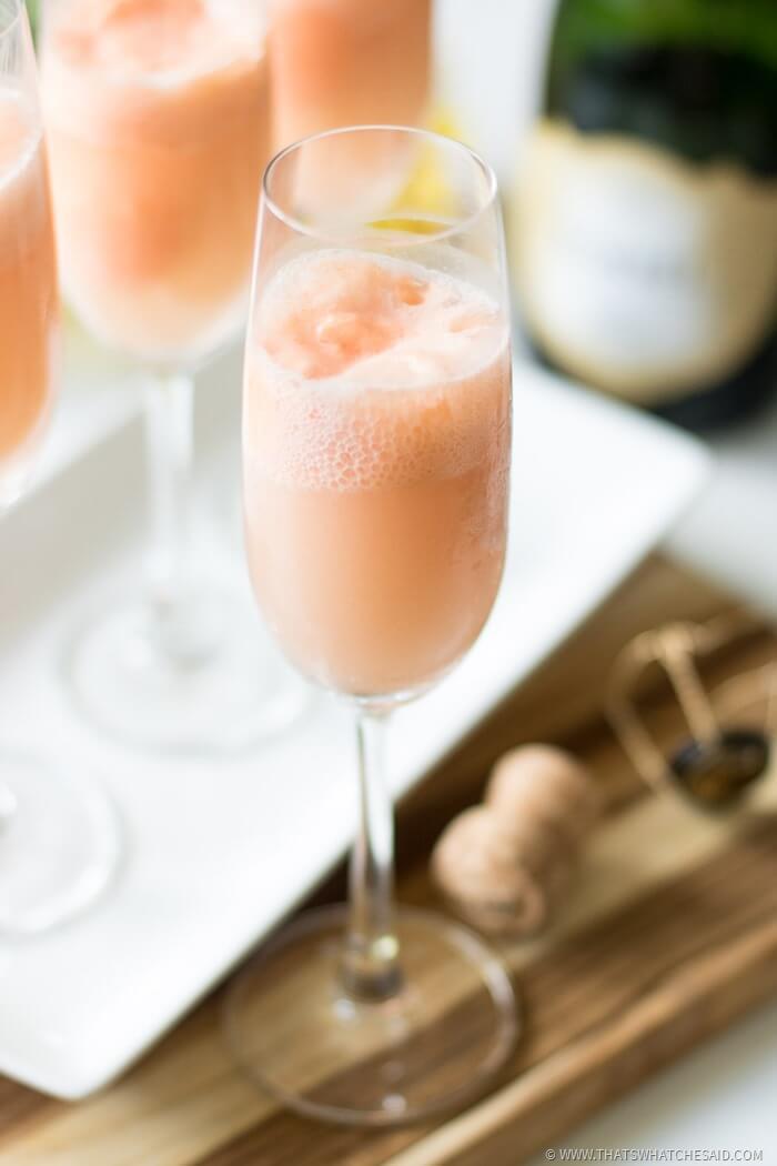 Summer Mimosa Float Recipe