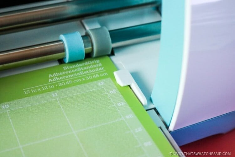 Easy Mat Guides on the Cricut Explores