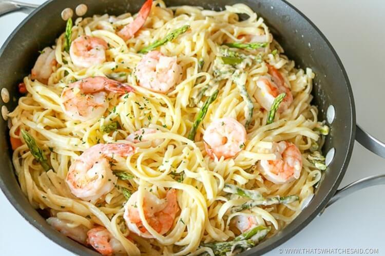 Easy Shrimp Linquine Recipe