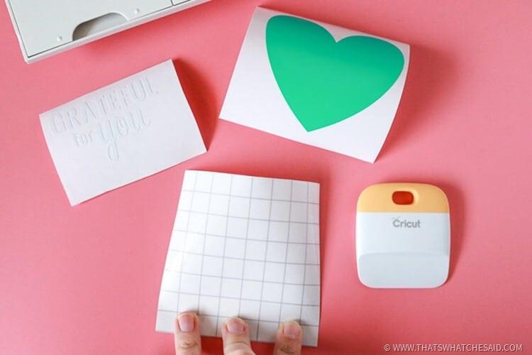 Gratitude Journal Handmade Gift Idea