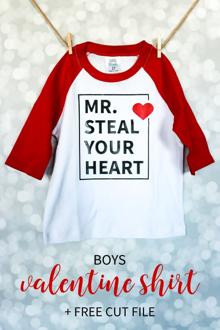 Boys Valentines Shirt Free Cut File Thats What Che Said