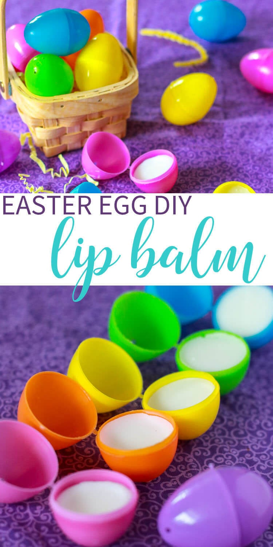 Easter Egg DIY Lip Balm Easter Basket Stuffer Idea