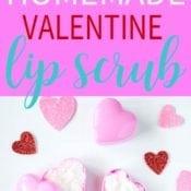 Homemade Valentine Lip Scrub