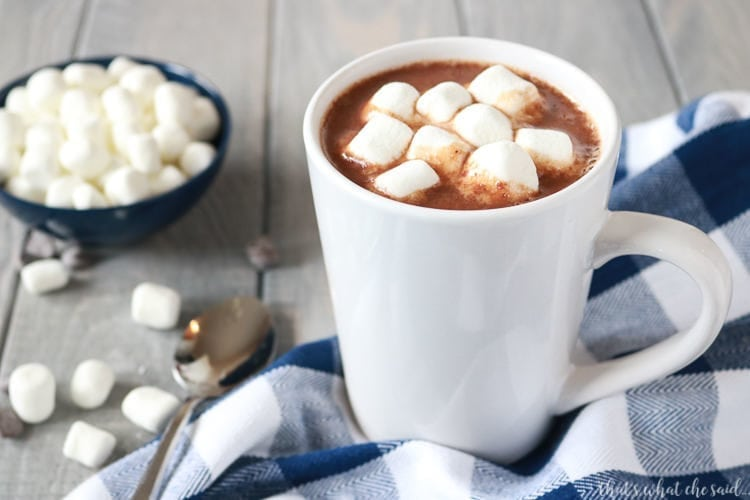 Simple Stove Top Hot Cocoa