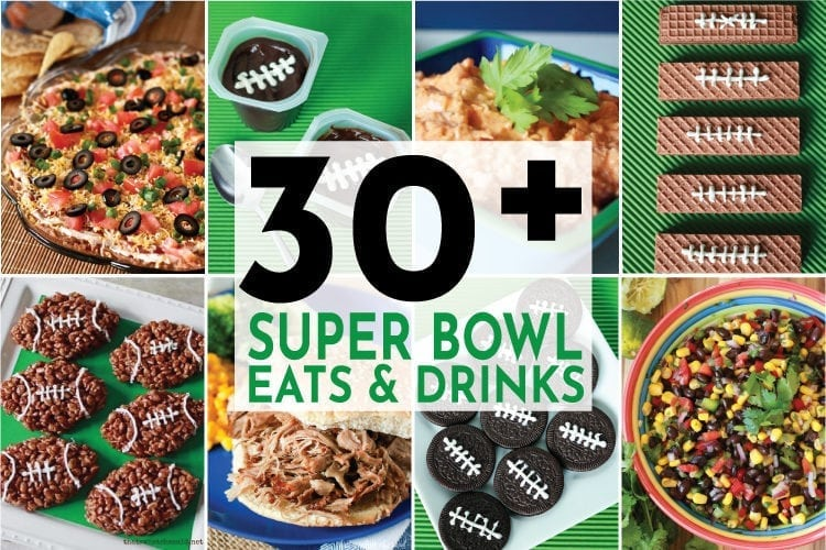 Easy Game Day Recipes and Cocktail ideas