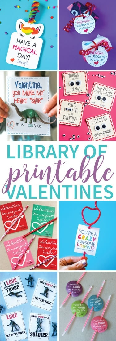 Amazing Collection of Printable Valentine Cards!