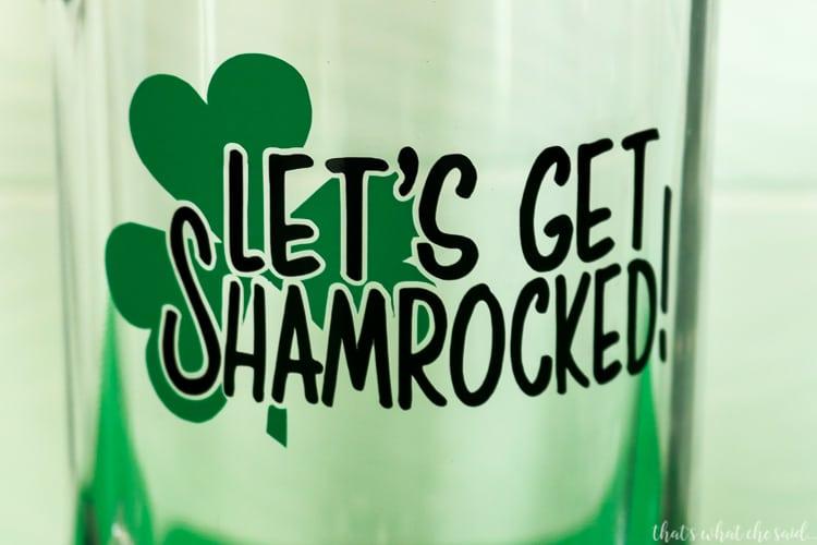 St. Patrick's Day Beer Mug