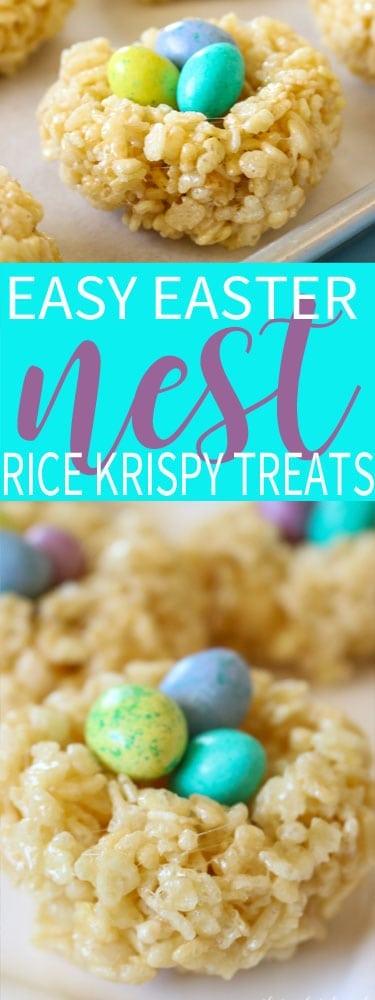 Easy Easter Rice Krispie Treats