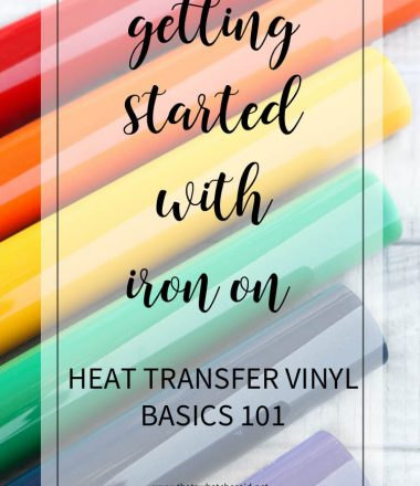 Vinyl Basics - Getting Started with HTV 101