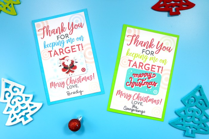 Free Printable For Gifting Target Gift Cards Thats What Che Said
