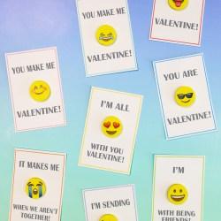 Emoji Valentine Cards