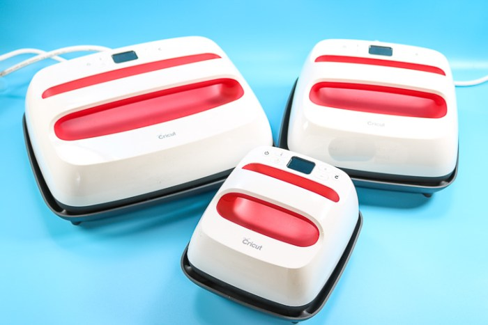 All three new EasyPress 2's