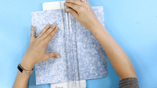Trimming Infusible Ink Transfer Sheet using a Paper Cutter