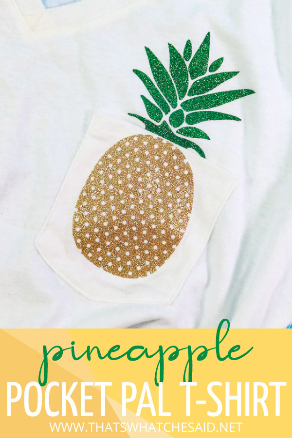 Pineapple Pocket Pal T-Shirt