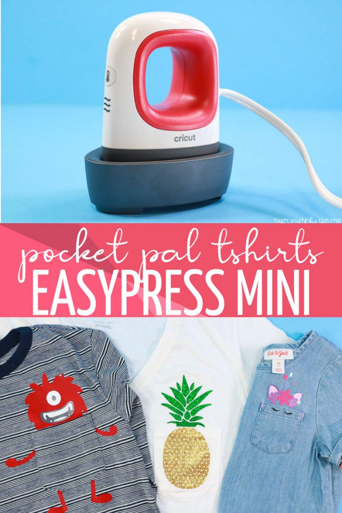 EasyPress Mini with Three Pocket Pal Projects
