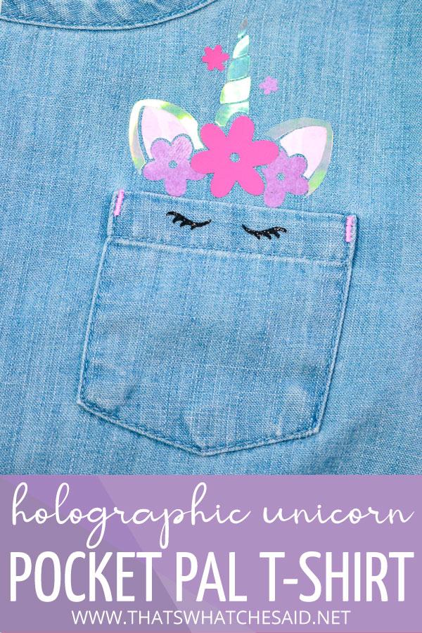 Unicorn Pocket Pal T-Shirt