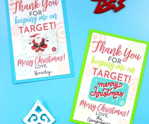 Free Printable for Target Gift Cards