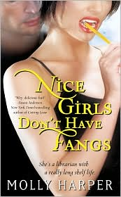 Nice Girls Don't Have Fangs Book Cover