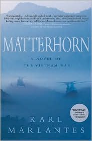 Matterhorn by Karl Marlantes Book Cover
