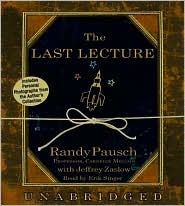 Book Cover Image: The Last Lecture by Randy Pausch and Jeff Zaslow
