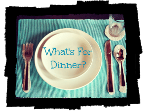 What's For Dinner Button