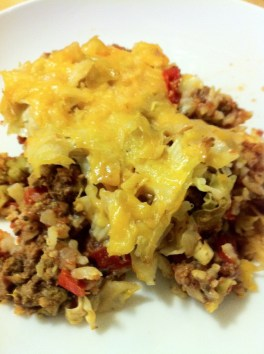 cajun cabbage beef