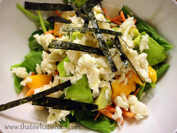 Crab Sushi Salad
