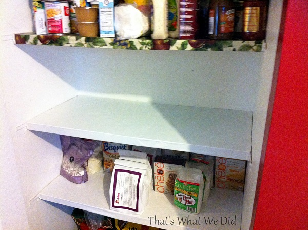 pantry organization middle