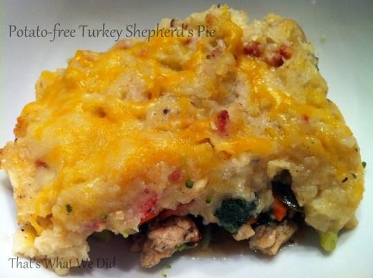 Potato-Free Shepherd's Pie