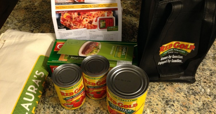 Red Gold Lasagna Kit giveaway and recipe