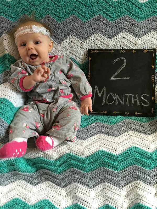 Marlowe update: Two months old