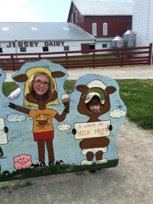 jenson and nana at youngs dairy