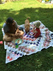 jenson and emma picnic