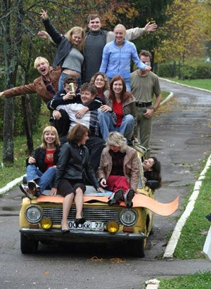 Russian carpool