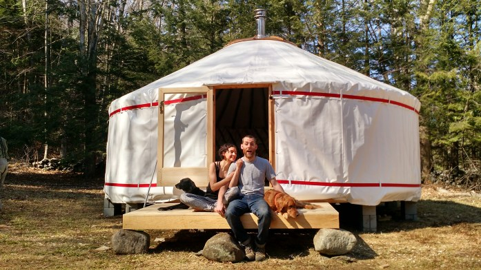 Ready for yurt life!
