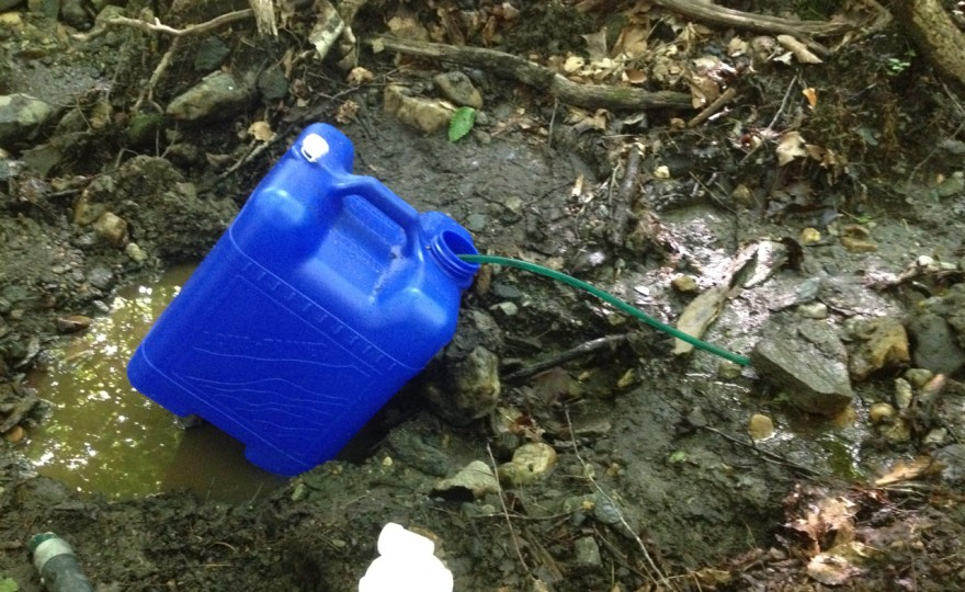 The Creek Goes Dry — Well, One of Them