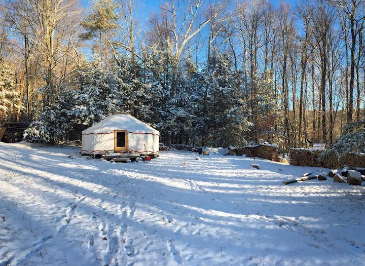 That Yurt from Two Girls Farm & Yurts.