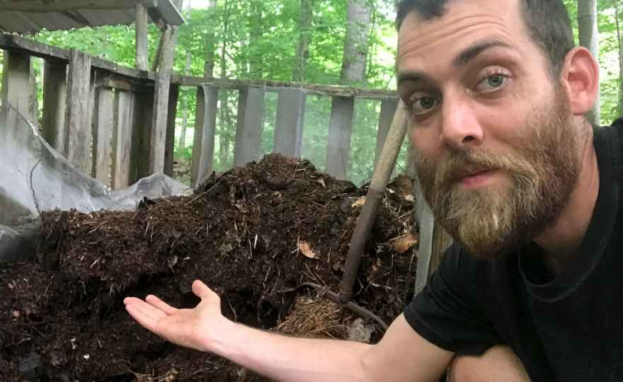 Humanure Update: What Our Humanure Compost Looks Like After Two Years of Aging