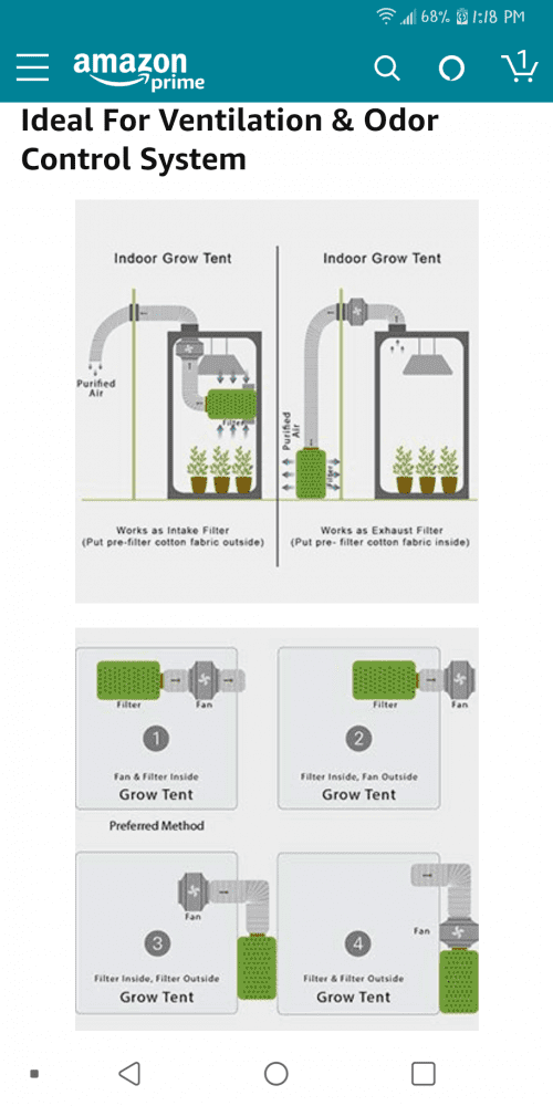2x4 tent exhaust layout picture request