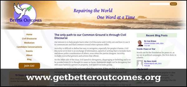 Better Outcomes website