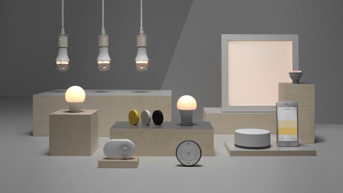 ikea tradfri lights to google home