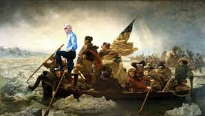 Biden Crossing the Delaware