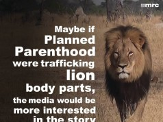 PlannedParenthood-BodyPartsForSale-LionKilled-Outrage-Attrib-FB-MRC-NewsBusters-238x178