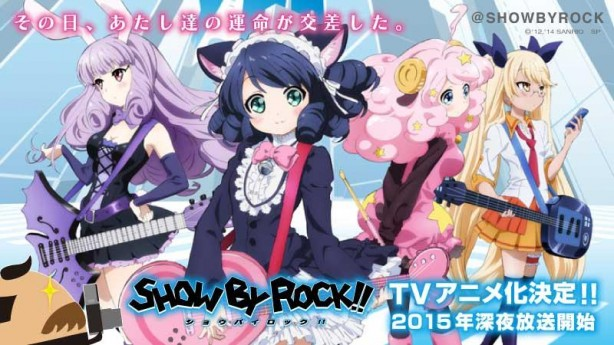 Sanrio Announce Anime Adaptation Of Show By Rock