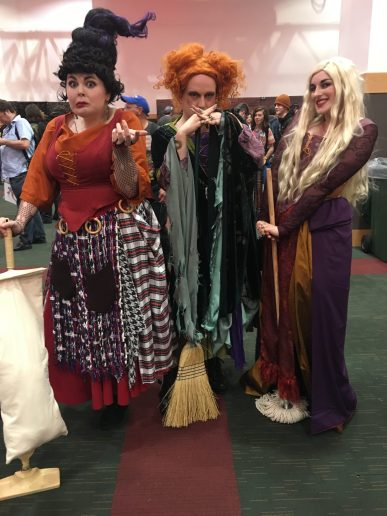 Sanderson Sisters by Declan Doody, Mehmeco Designs and Fiona Mooney