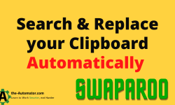 Automatically Search Replace text on your clipboard